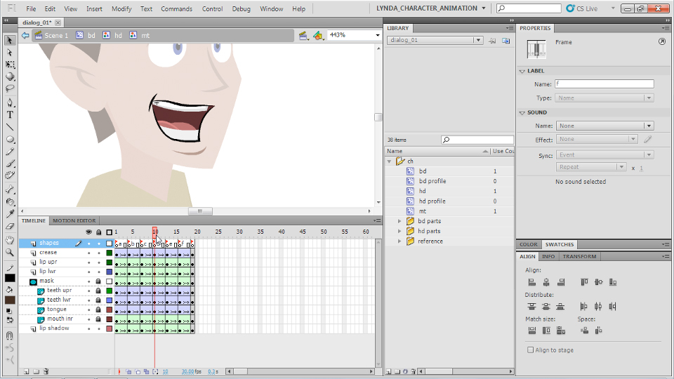 : Flash Professional CS5: Character Animation