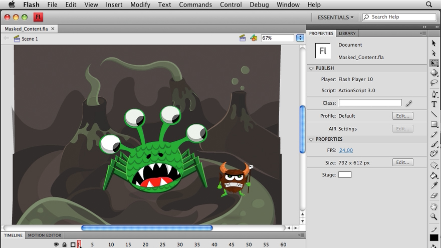 Welcome: Flash CS4 Professional Tools for Character Animation