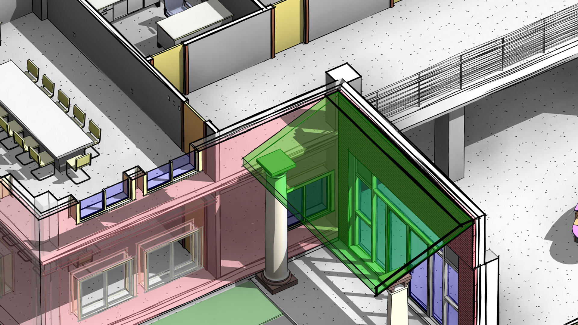 Creating Extrusion Roofs