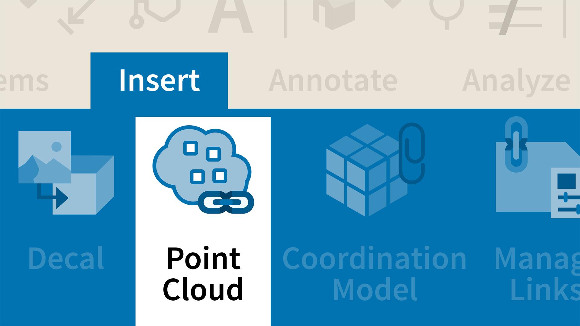 Revit: Using Point Cloud Data