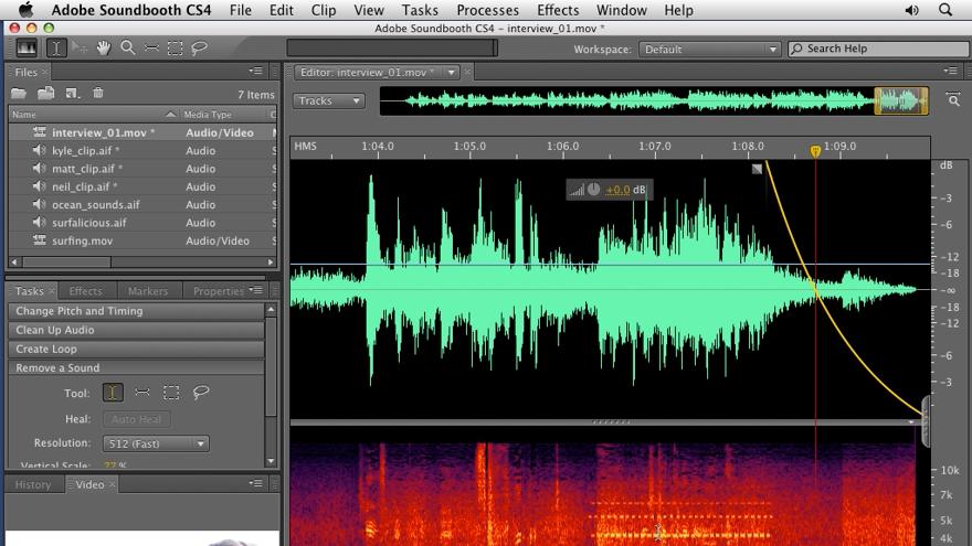 : Soundbooth CS4 Getting Started