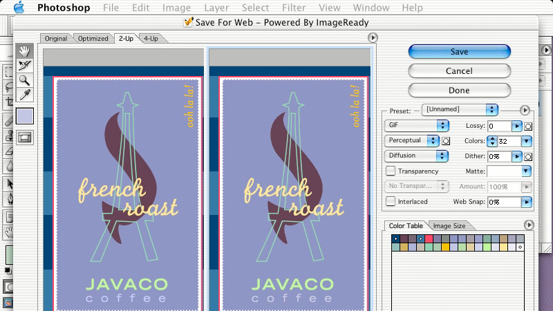 color profiles: Learning Photoshop CS for the Web