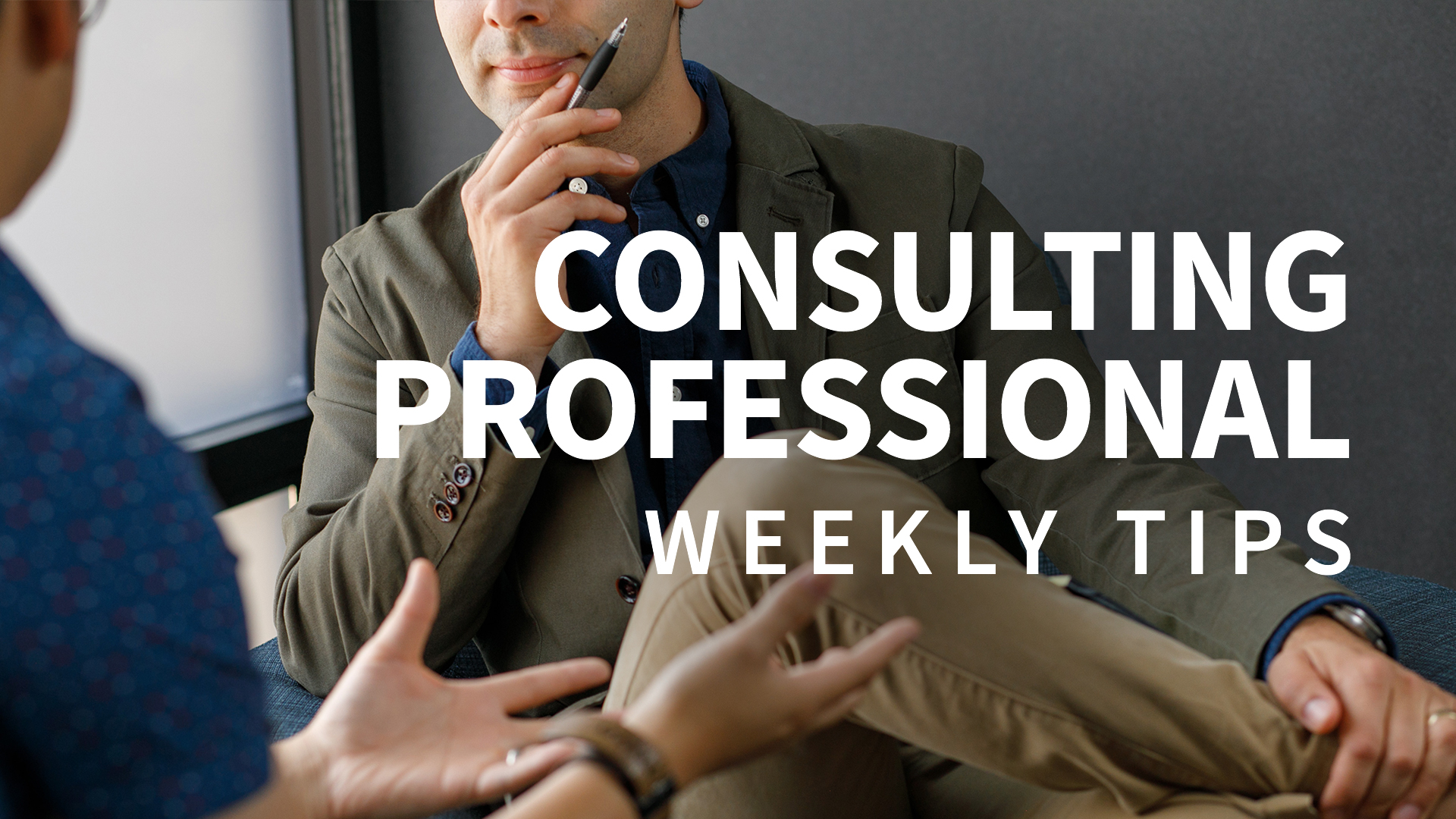 Know when a project is about to end: Consulting Professional Weekly Tips