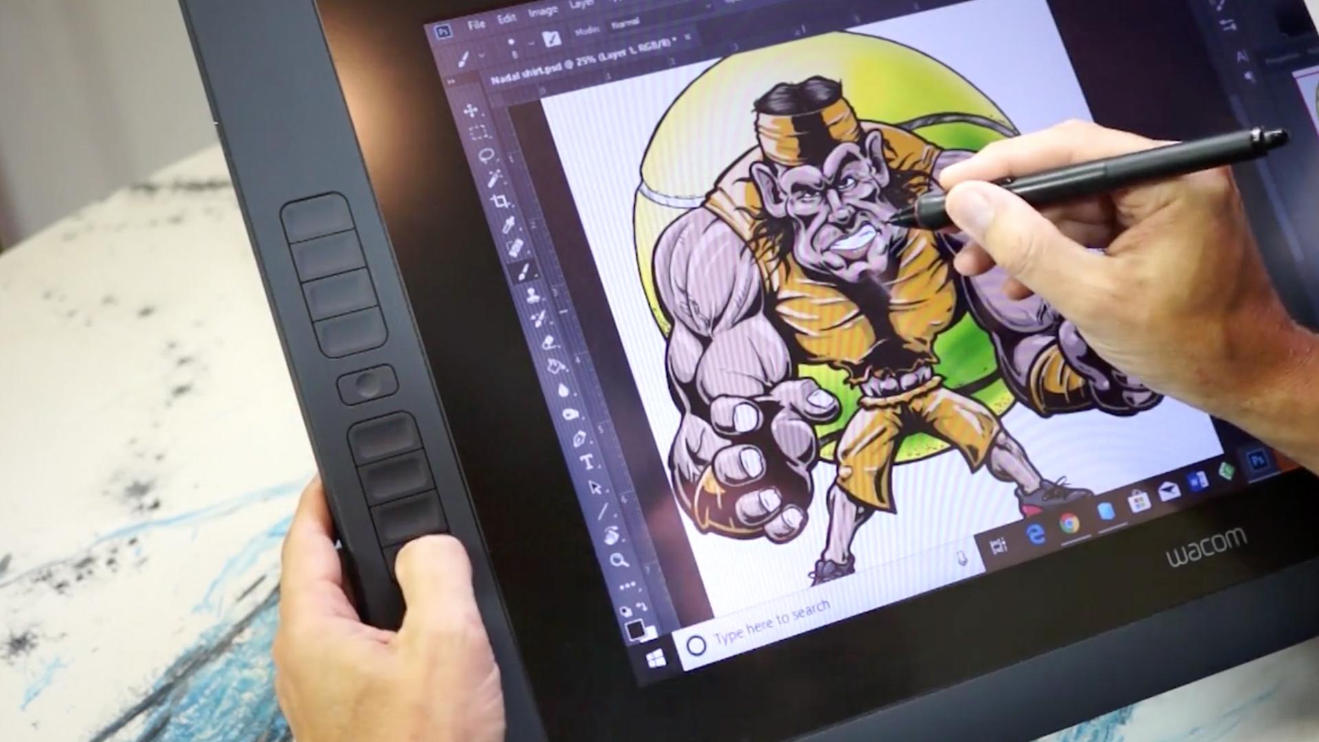 Wacom Tablet: Customizing ExpressKeys