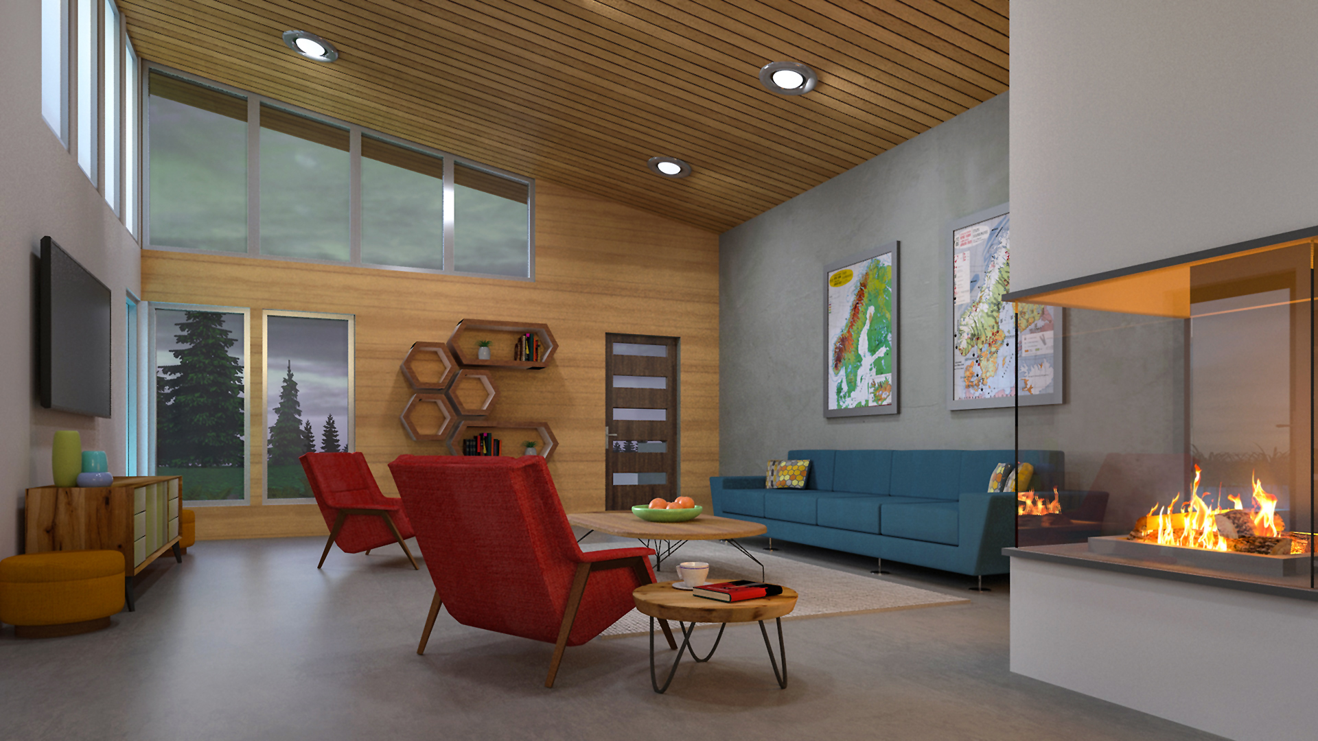 Residential Design and Visualization: Concept Development
