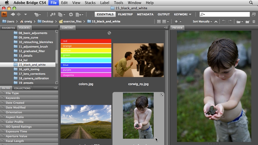 : Photoshop CS4 for Photographers: Camera Raw