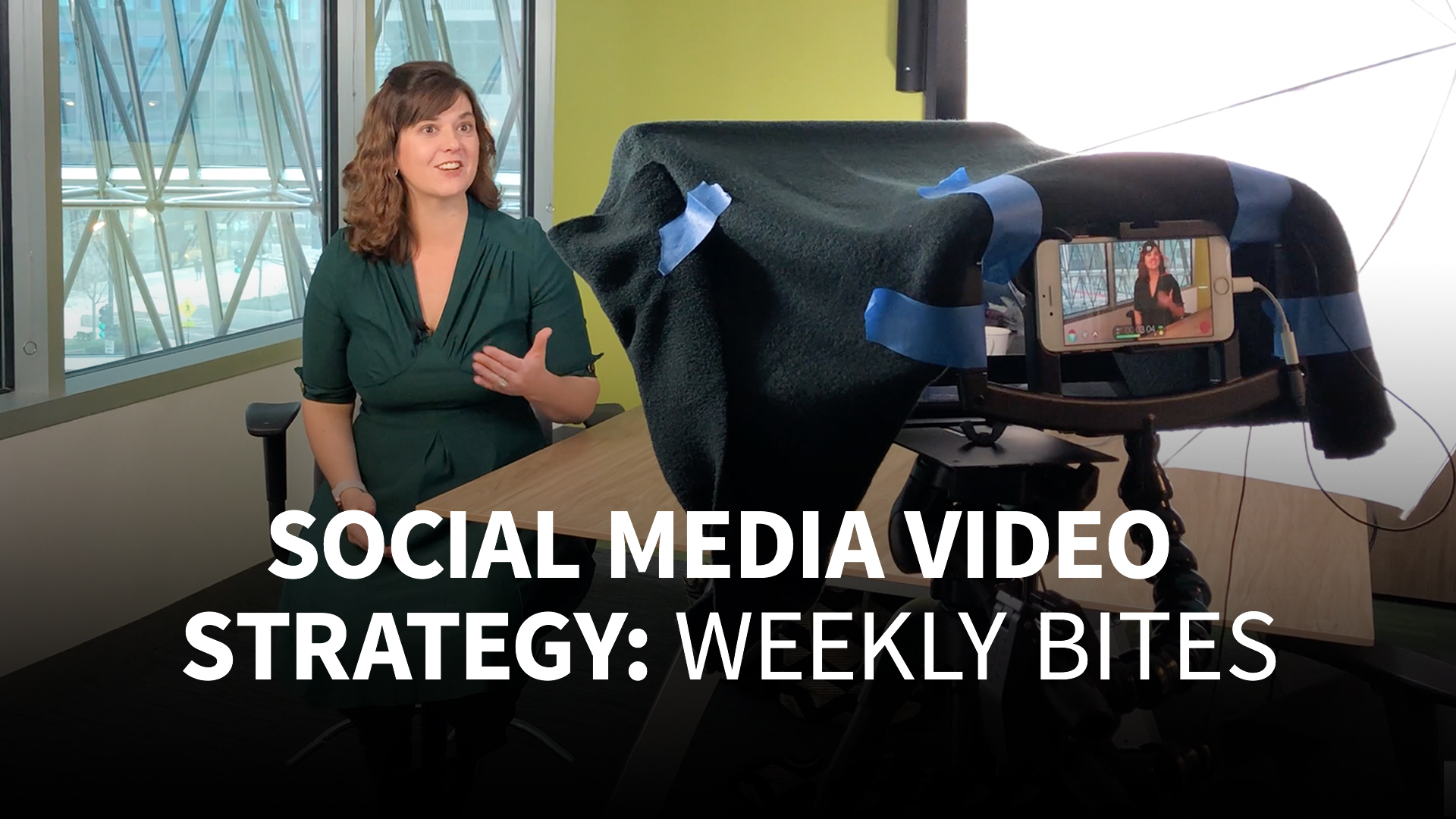 Representing an existing brand: Social Media Video Strategy: Weekly Bites