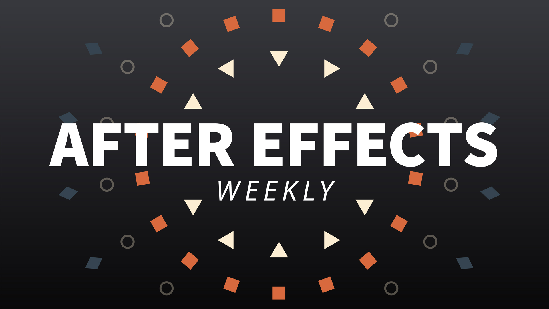 After Effects Weekly