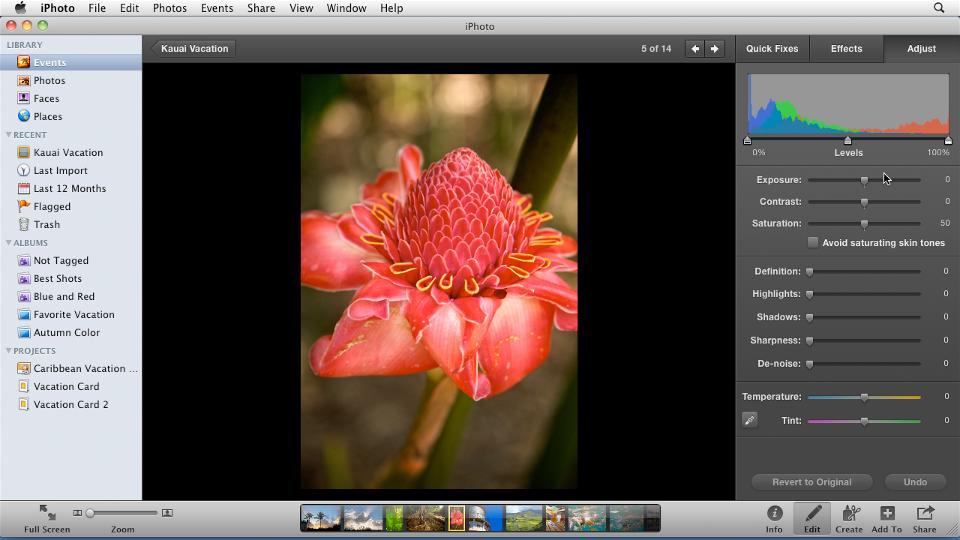 : iPhoto '11 Essential Training