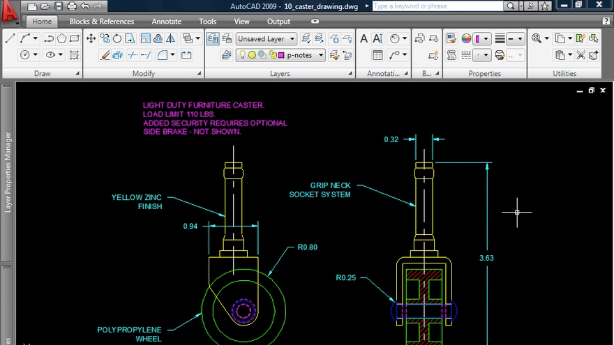 Welcome: AutoCAD 2009: 2D Drafting Techniques