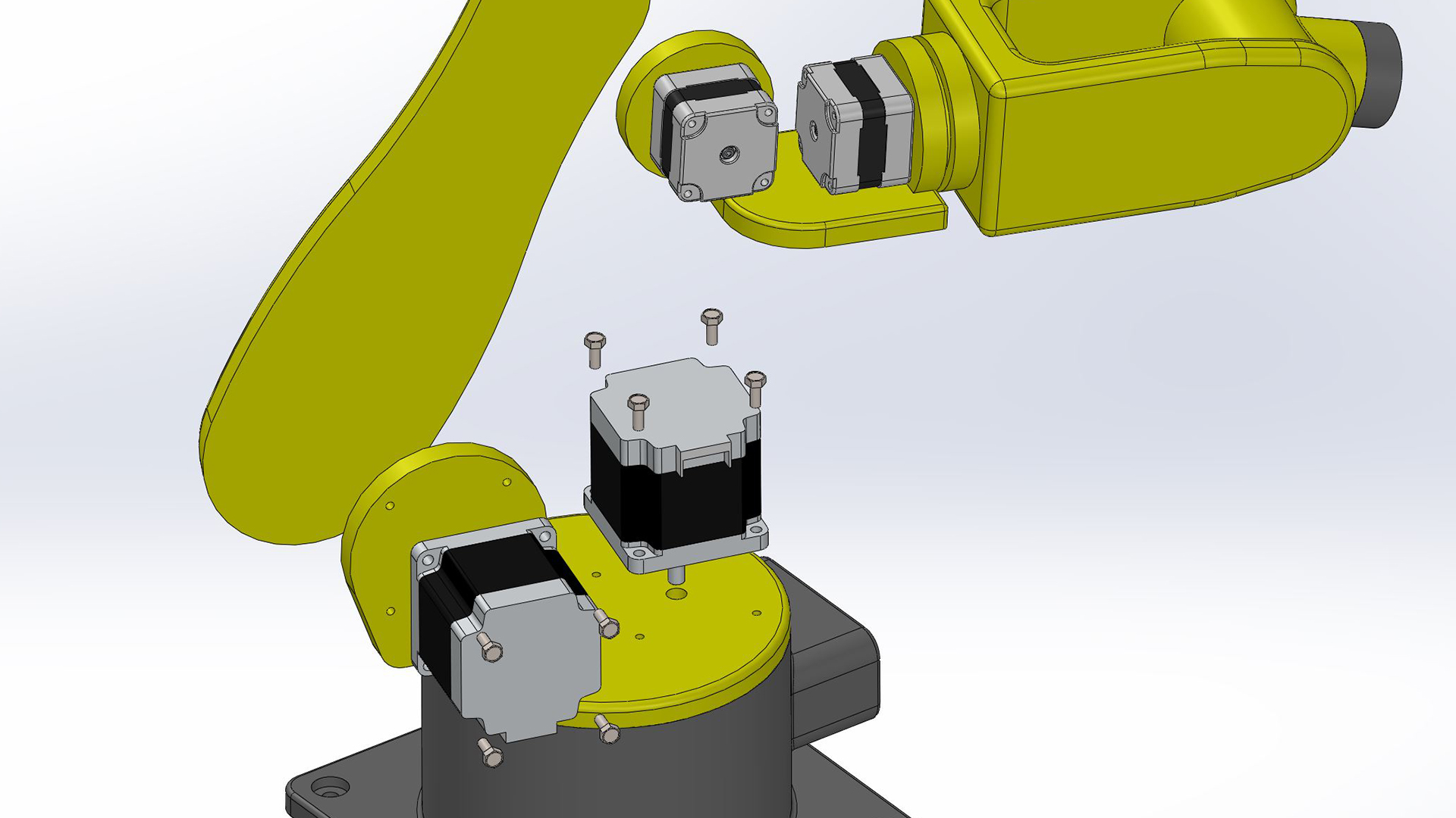Mechatronics design in SOLIDWORKS