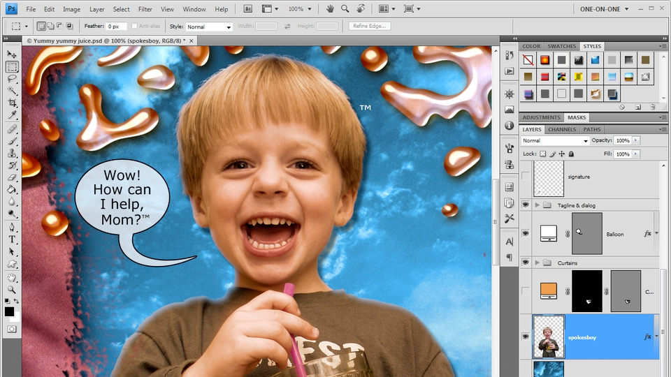 Welcome to Photoshop CS4 One-on-One Advanced: Photoshop CS4 One-on-One: Advanced