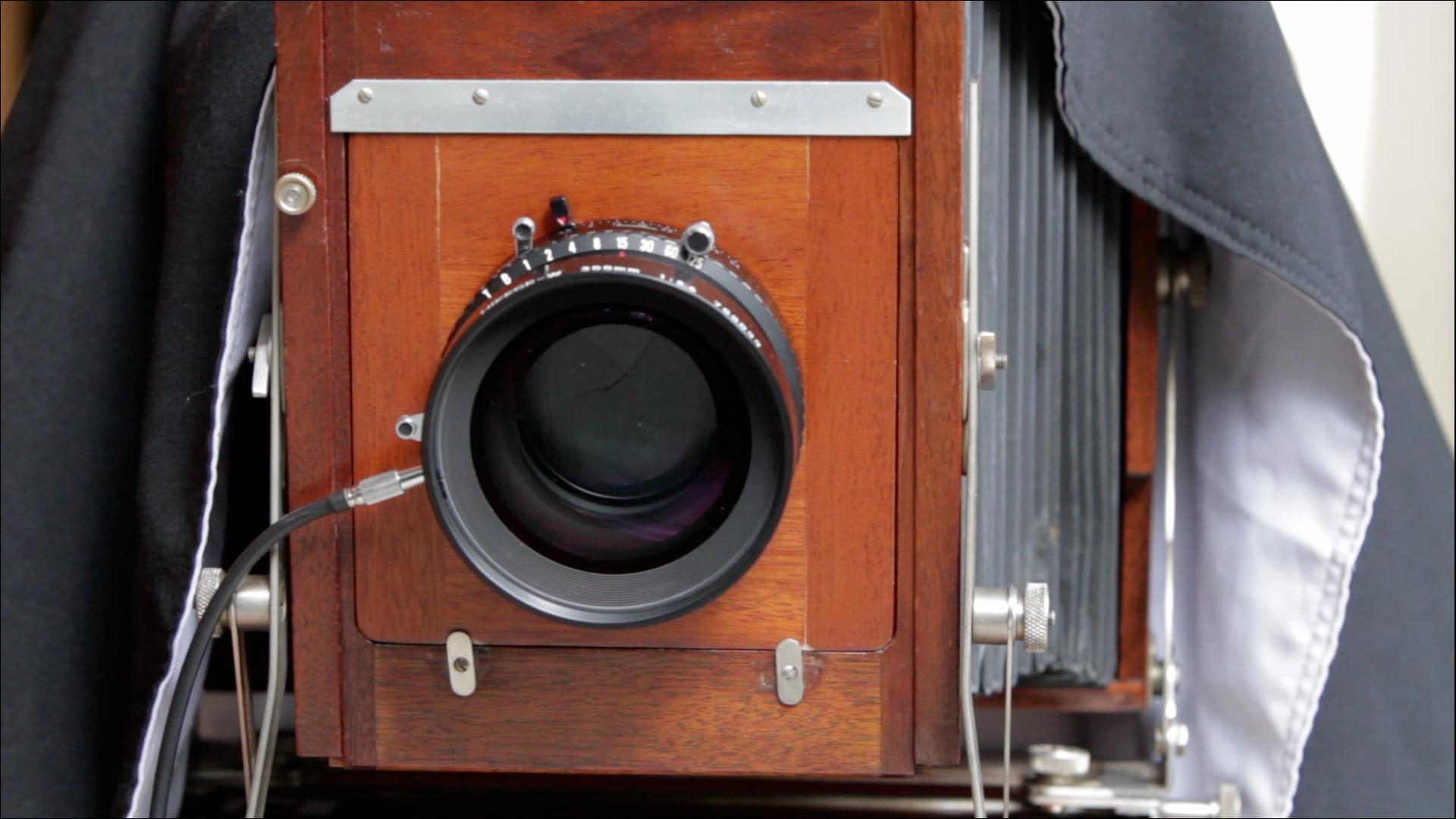 : Douglas Kirkland on Photography: Shooting with an 8x10 Camera