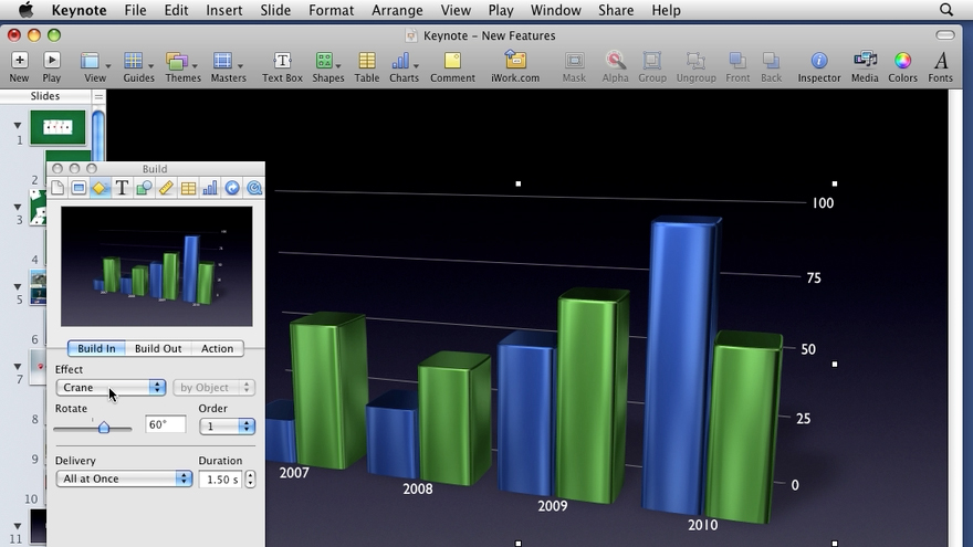 Welcome: iWork '09 New Features
