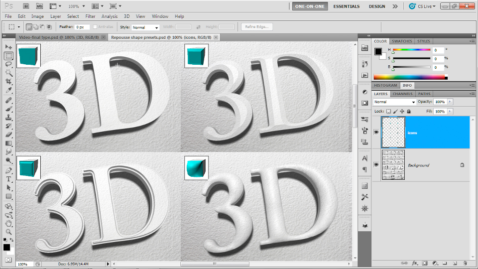 : Photoshop CS5 Extended One-on-One: 3D Fundamentals