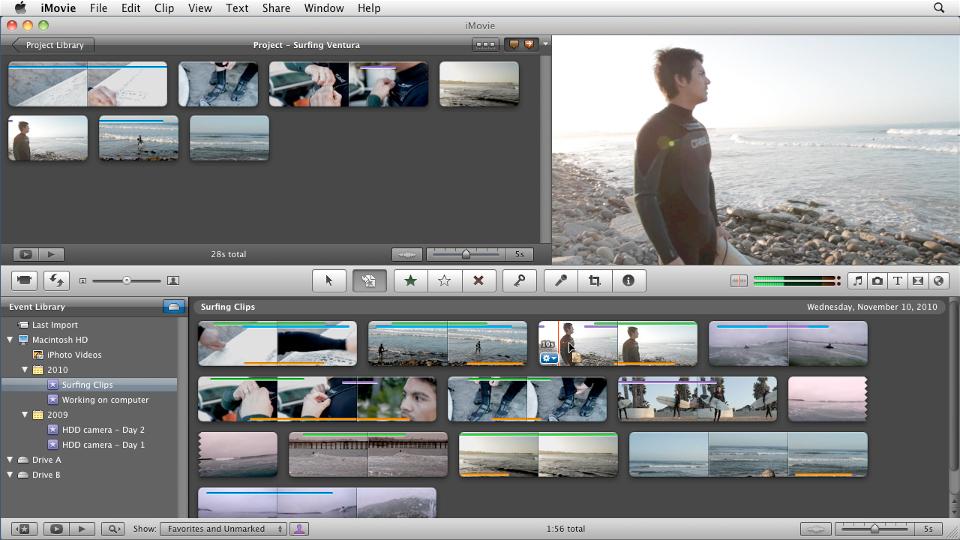 : iMovie 11 Essential Training
