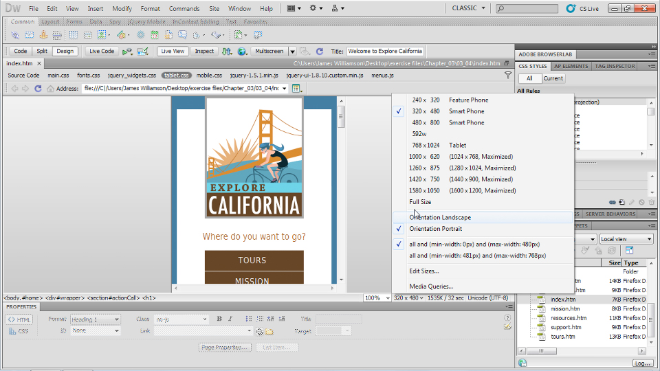 Welcome: Dreamweaver CS5.5 New Features