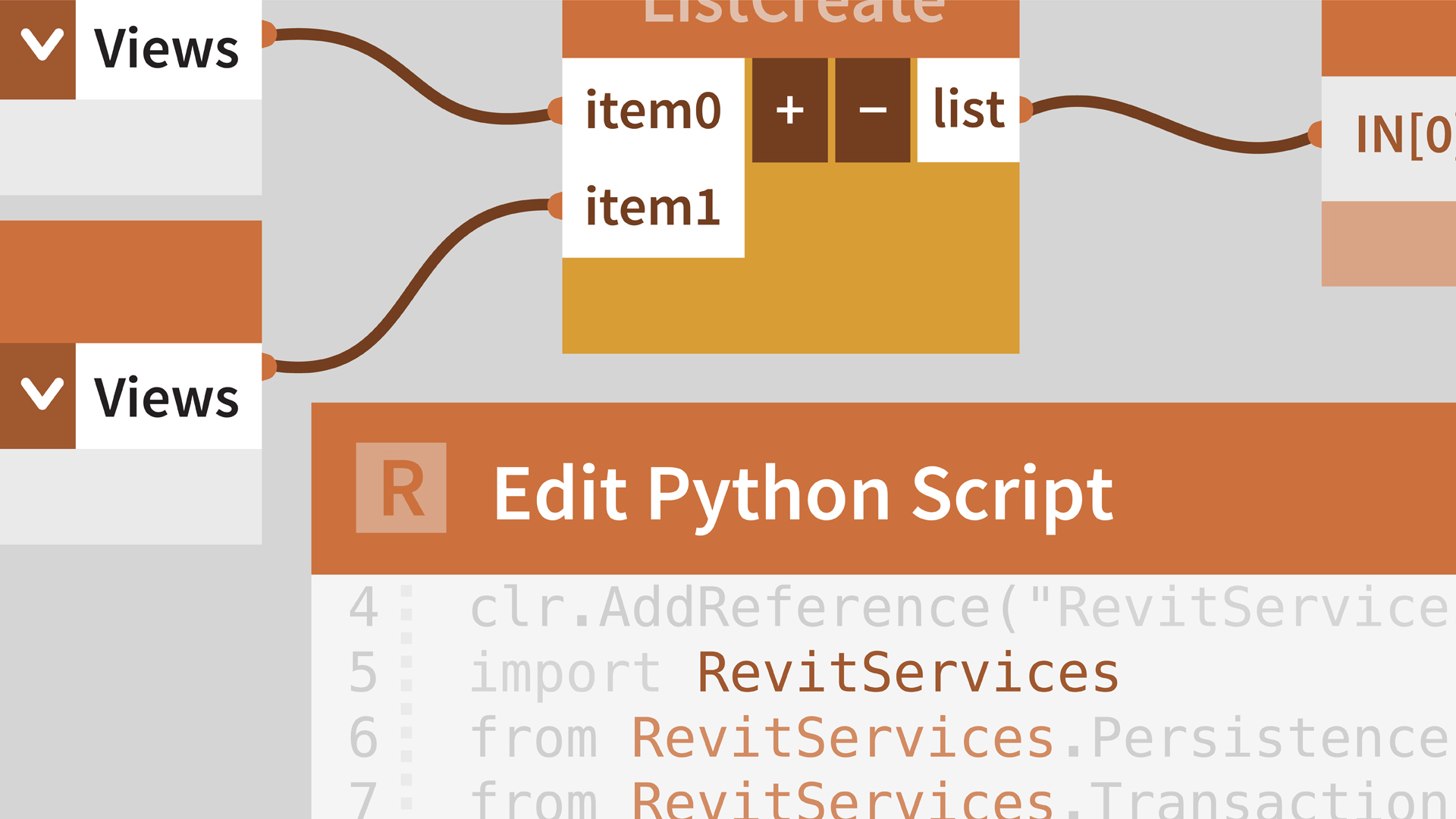Dynamo for Revit: Python Scripting