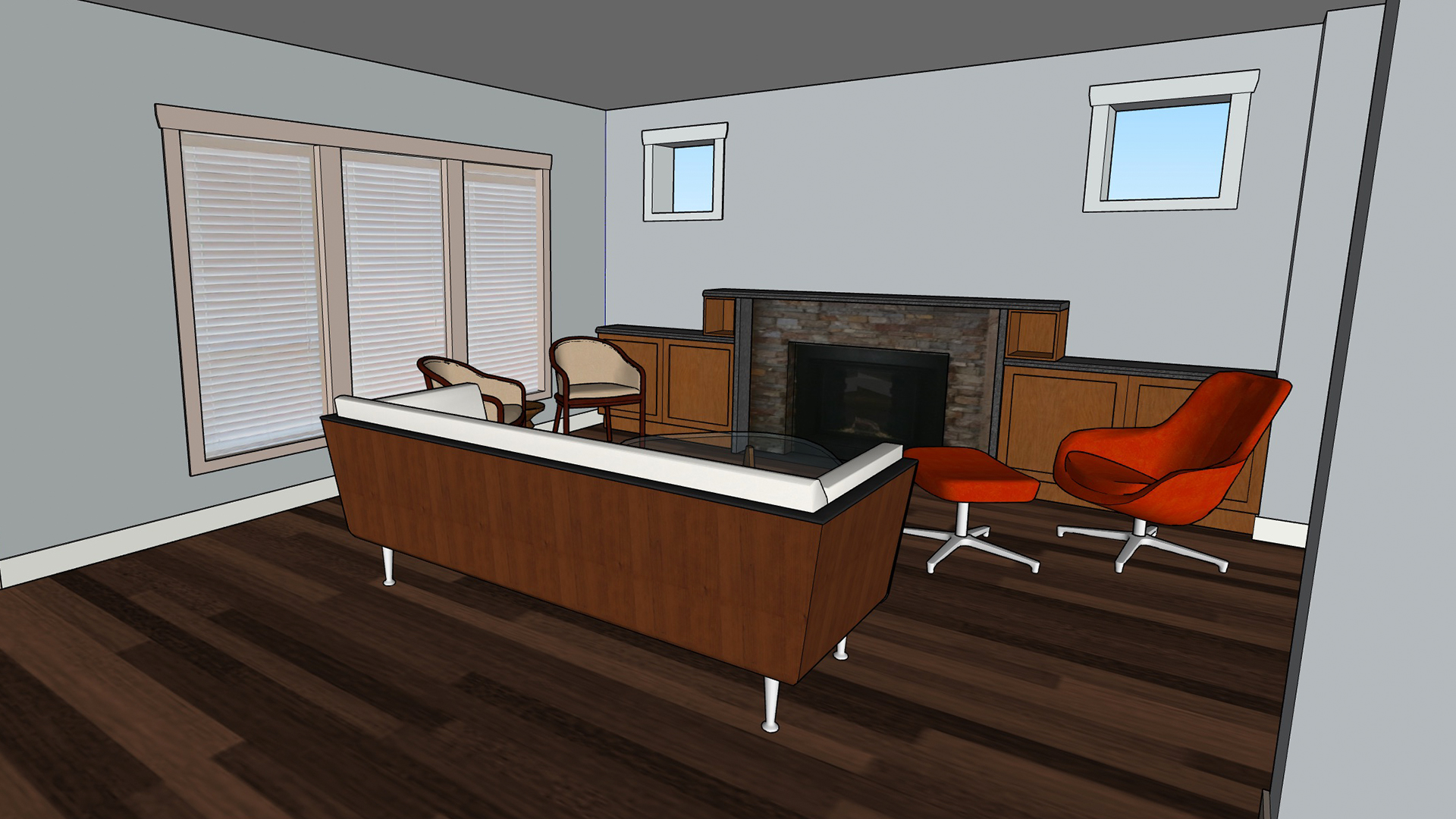 Sketchup Modeling Interiors From Photos