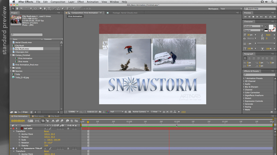 Introduction: After Effects Apprentice 01: Pre-Roll