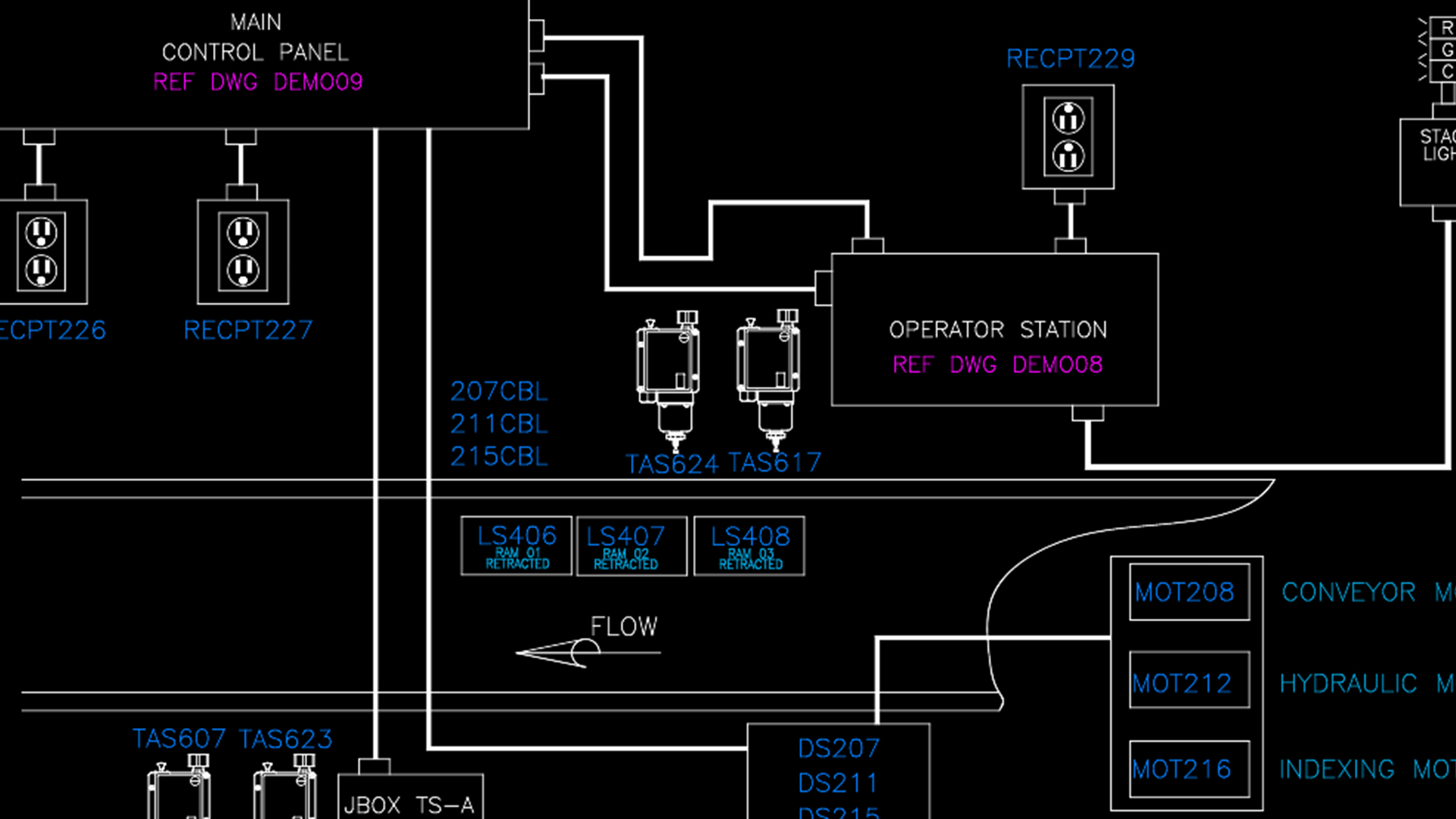 AutoCAD Electrical: Implementing PLCs