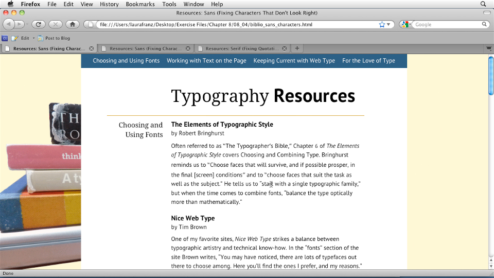 Welcome: Typography for Web Designers