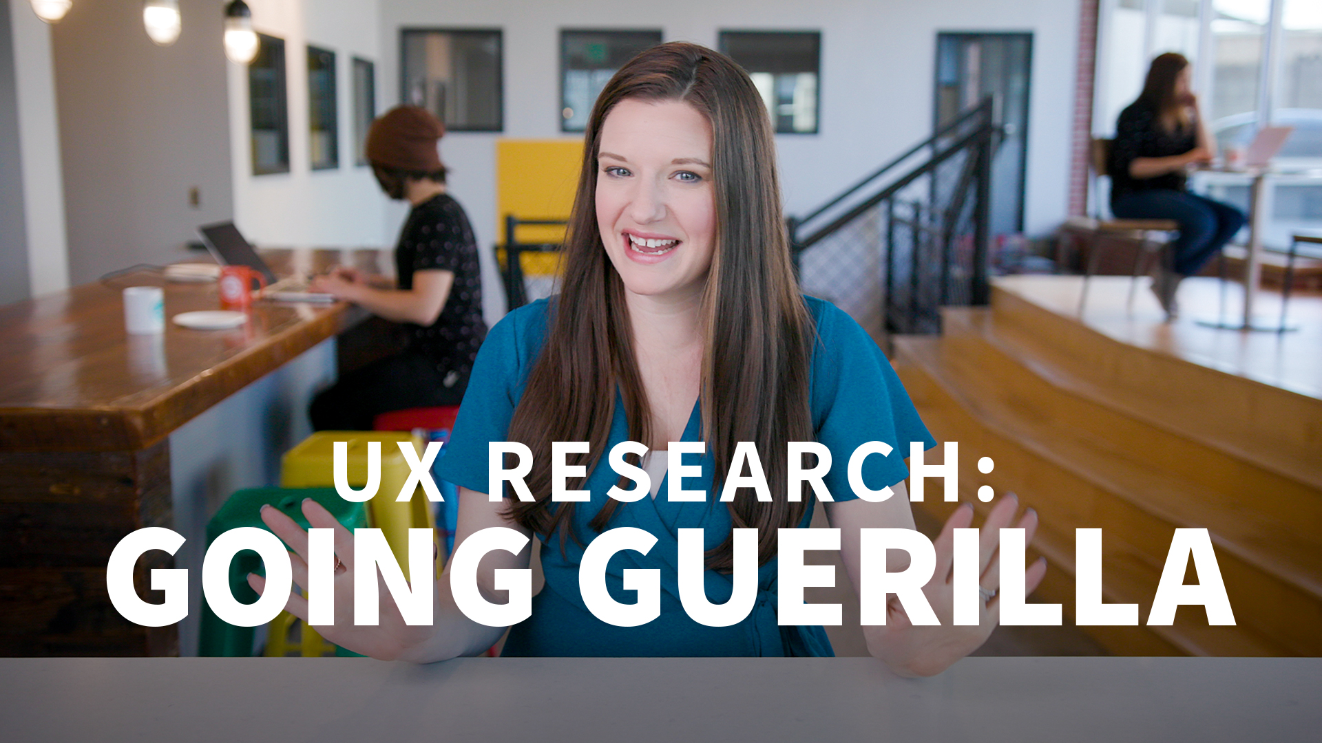 What is guerrilla research?: UX Research: Going Guerrilla