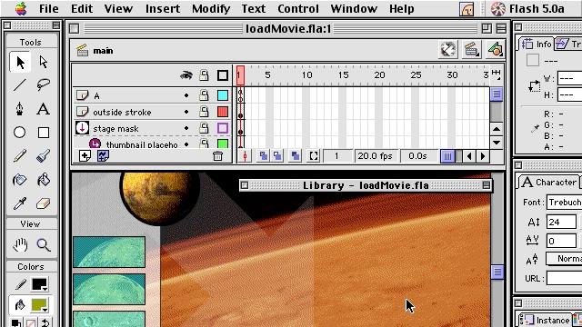 Keyboard Shortcuts: Optimizing Flash 5 Content