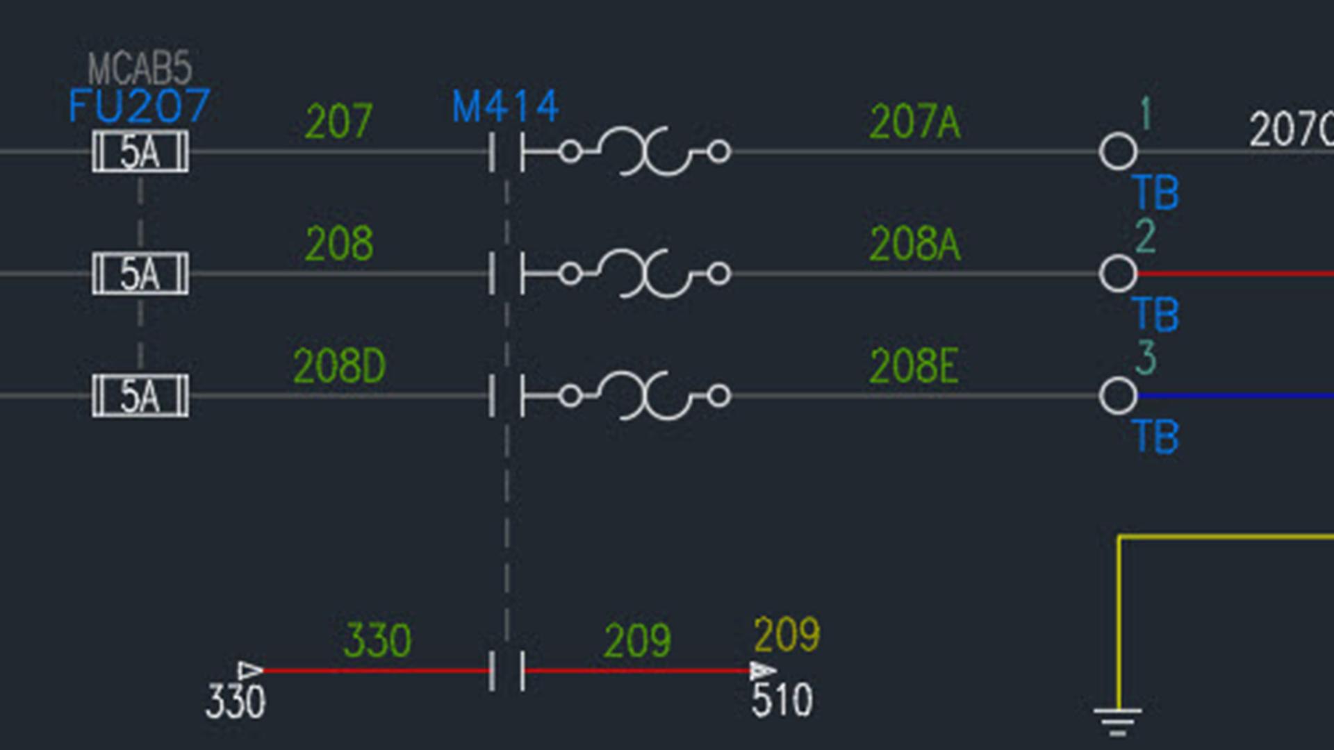 [SCHEMATICS_48ZD]  AutoCAD Electrical Essential Training | Cad Wiring Diagram |  | Lynda.com