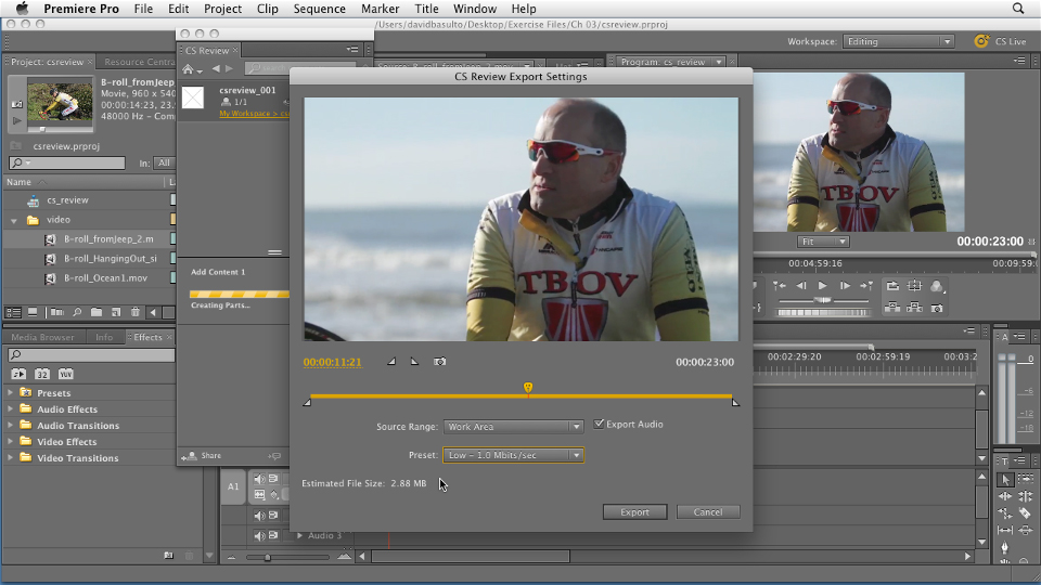 : Premiere Pro CS5.5 New Features