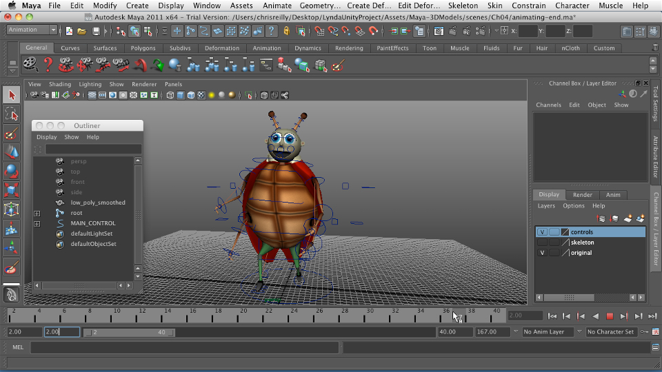 : Game Character Creation in Maya