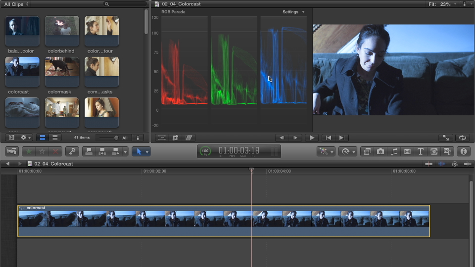 : Color Correction in Final Cut Pro X
