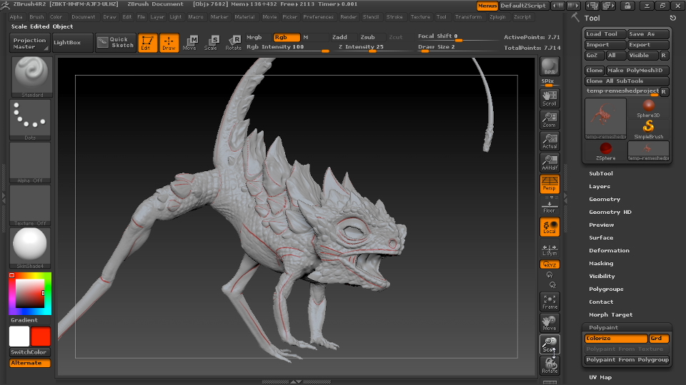 Introduction: Digital Creature Creation in ZBrush, Photoshop, and Maya