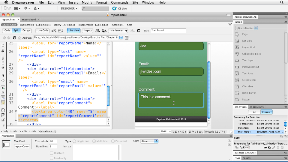 Welcome: Building Android and iOS Apps with Dreamweaver CS5.5