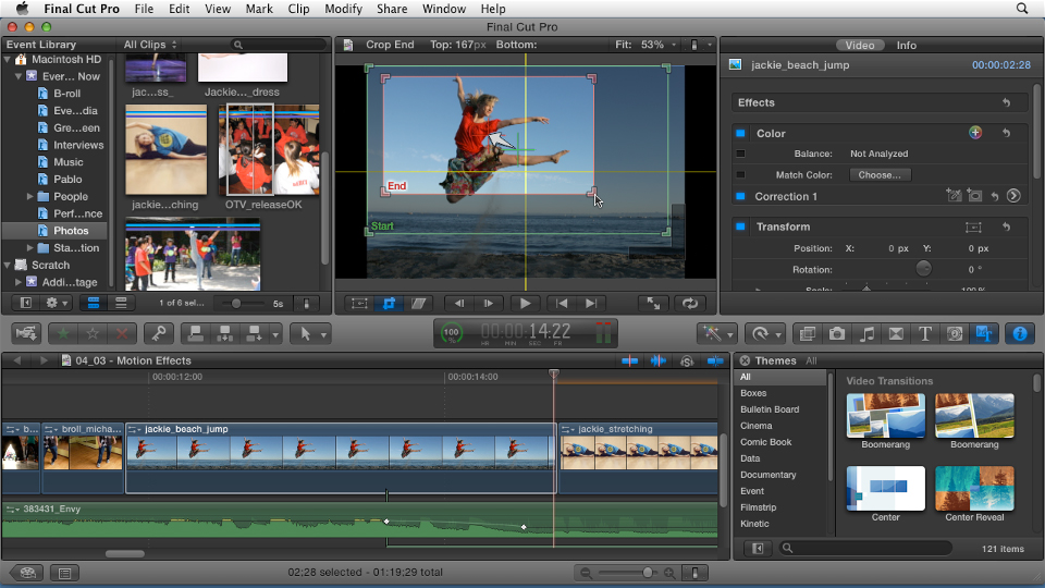 Final Cut Pro - Online Courses, Classes, Training, Tutorials On Lynda