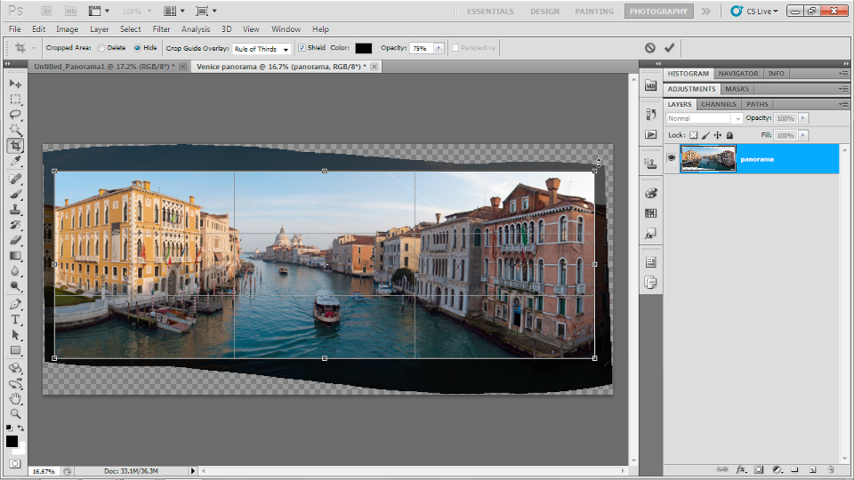 : Up and Running with Photoshop for Photography