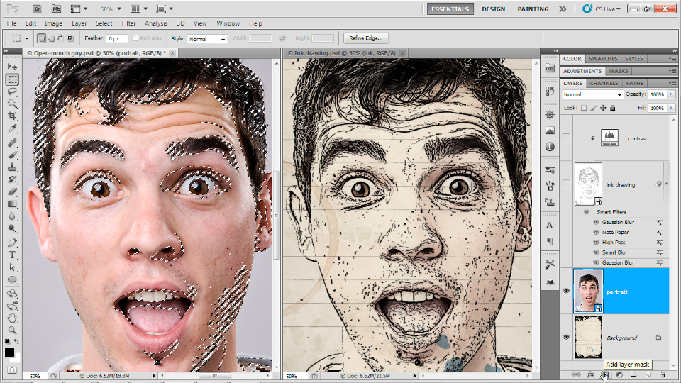 : Up and Running with Photoshop for Design