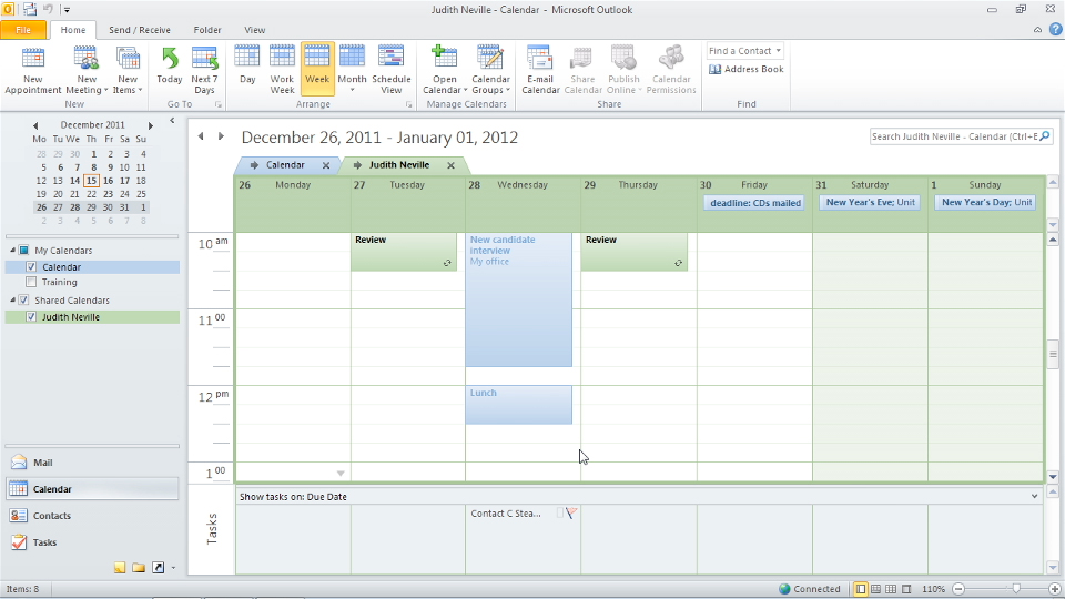 Welcome and overview: Outlook 2010: Time Management with Calendar and Tasks