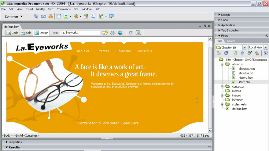 interview: Dreamweaver MX 2004 Beyond the Basics