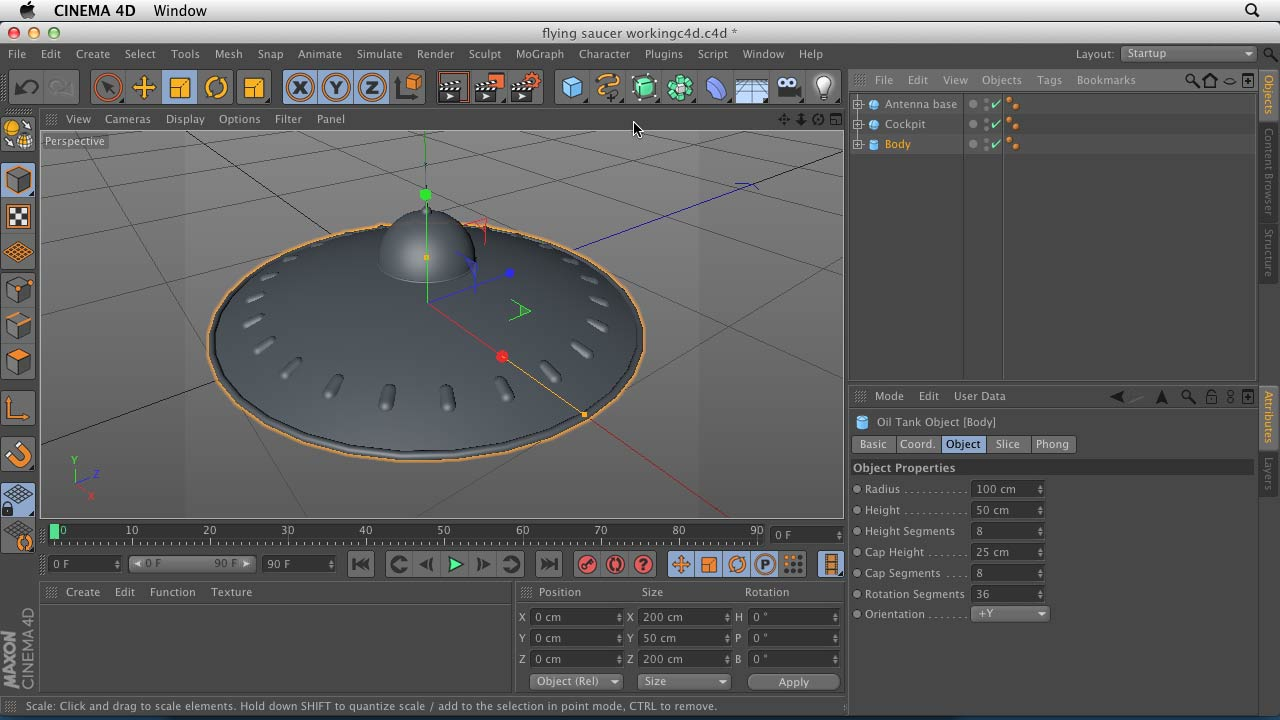 Character Design Cinema 4d Tutorial : Cinema d essential training interface objects and hierarchies