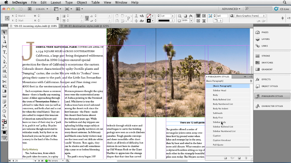 Welcome: InDesign Styles in Depth