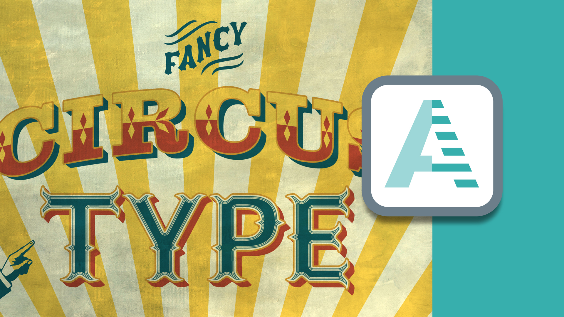 Create Circus Type, part 4: Photoshop for Designers: Type Effects