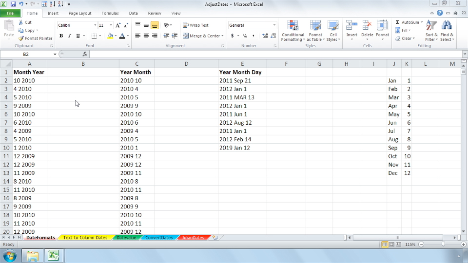 Welcome: Cleaning Up Your Excel 2010 Data