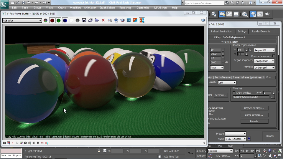 : V-Ray 2.0 for 3ds Max Essential Training