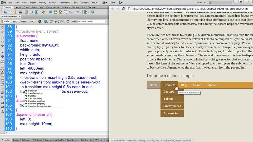 : CSS: Styling Navigation