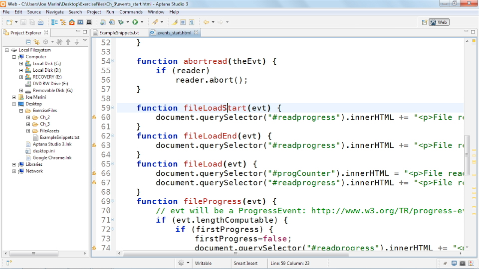 Welcome: HTML5: File API in Depth