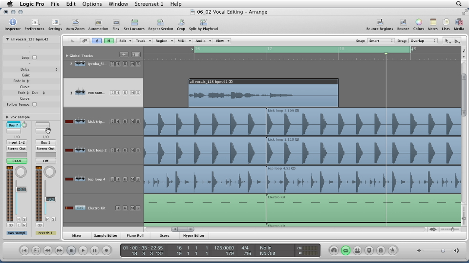 : Remixing a Song in Logic Pro