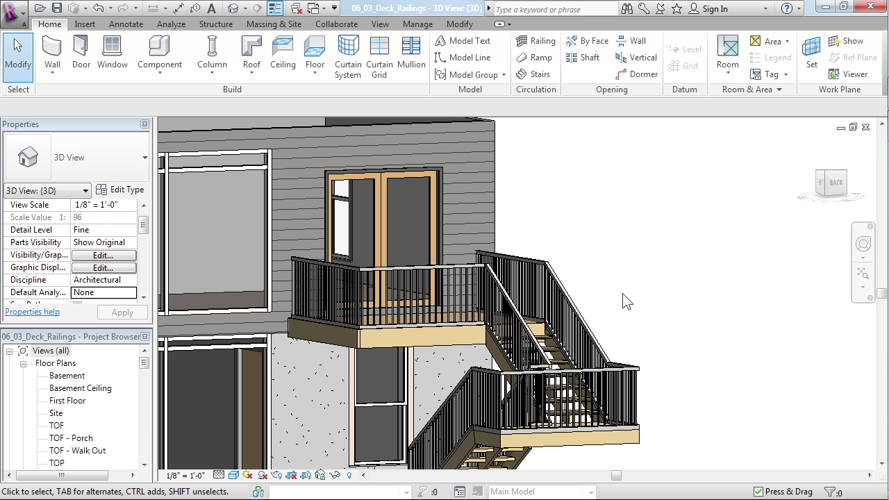 Designing a house in revit architecture for Home architecture cad