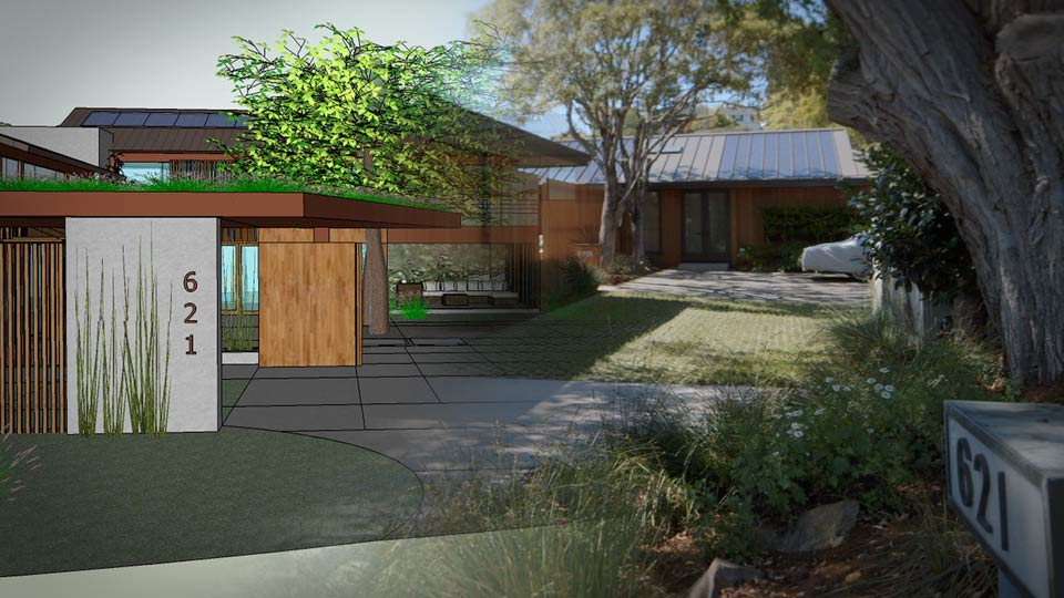 Michelle kaufmann 39 s platinum leed home remodel start to - Remodeling a house where to start ...
