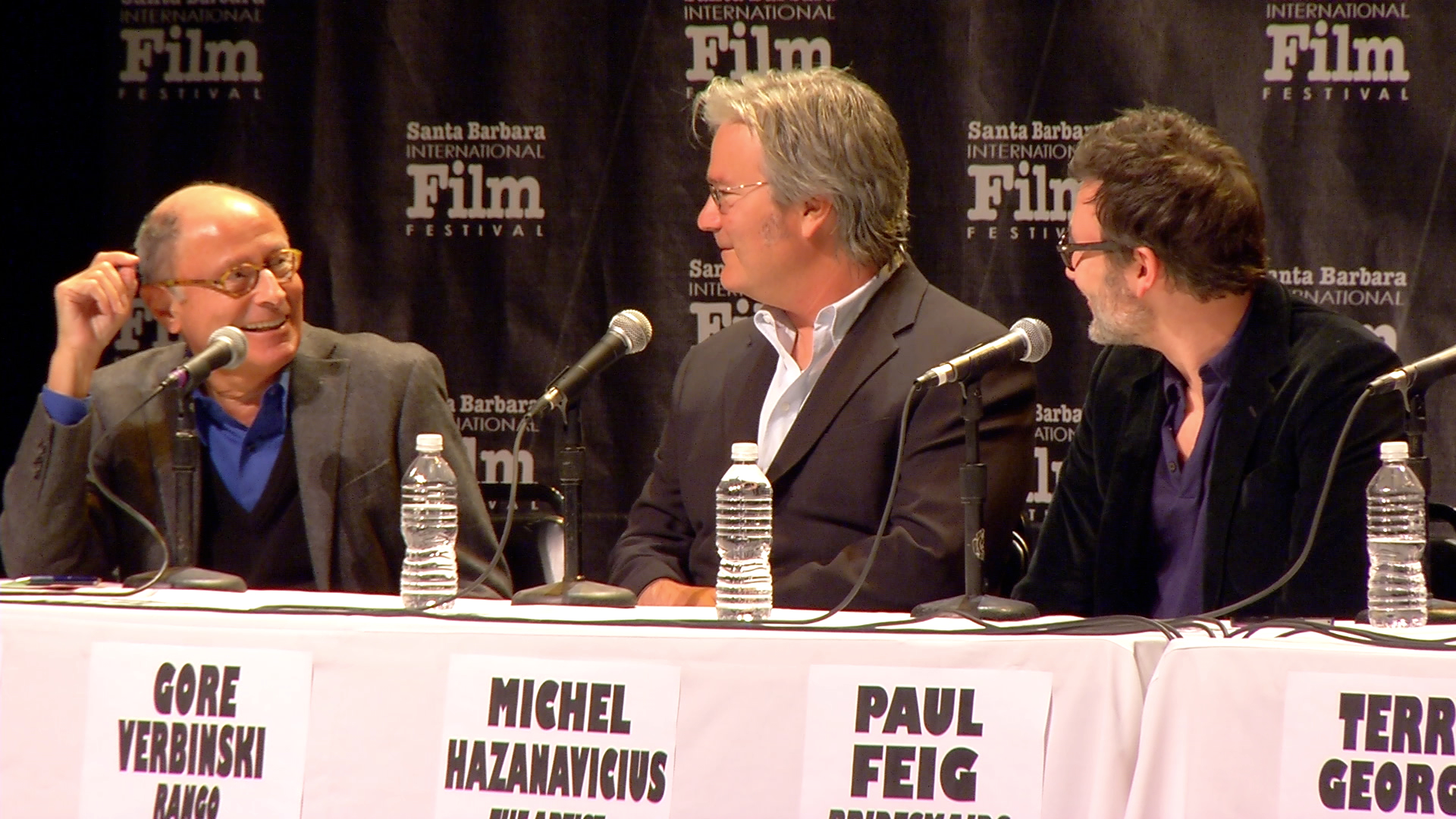 The process of comedy: 2012 SBIFF Directors' Panel:  Directors on Directing